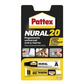 PATTEX NURAL 20 BLISTER 50GR