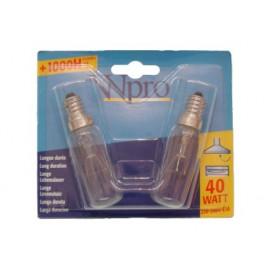 LAMP CAMPA 40W.PACK 2UDS