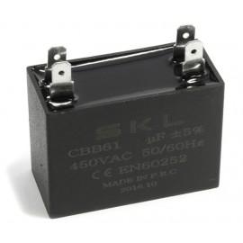 CONDENSADOR CUADRADO 1MF 450V